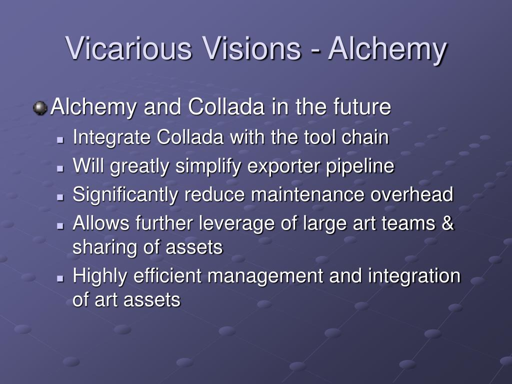 Vicarious Visions - Alchemy