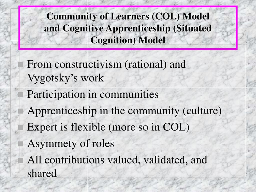 Community of Learners (COL) Model