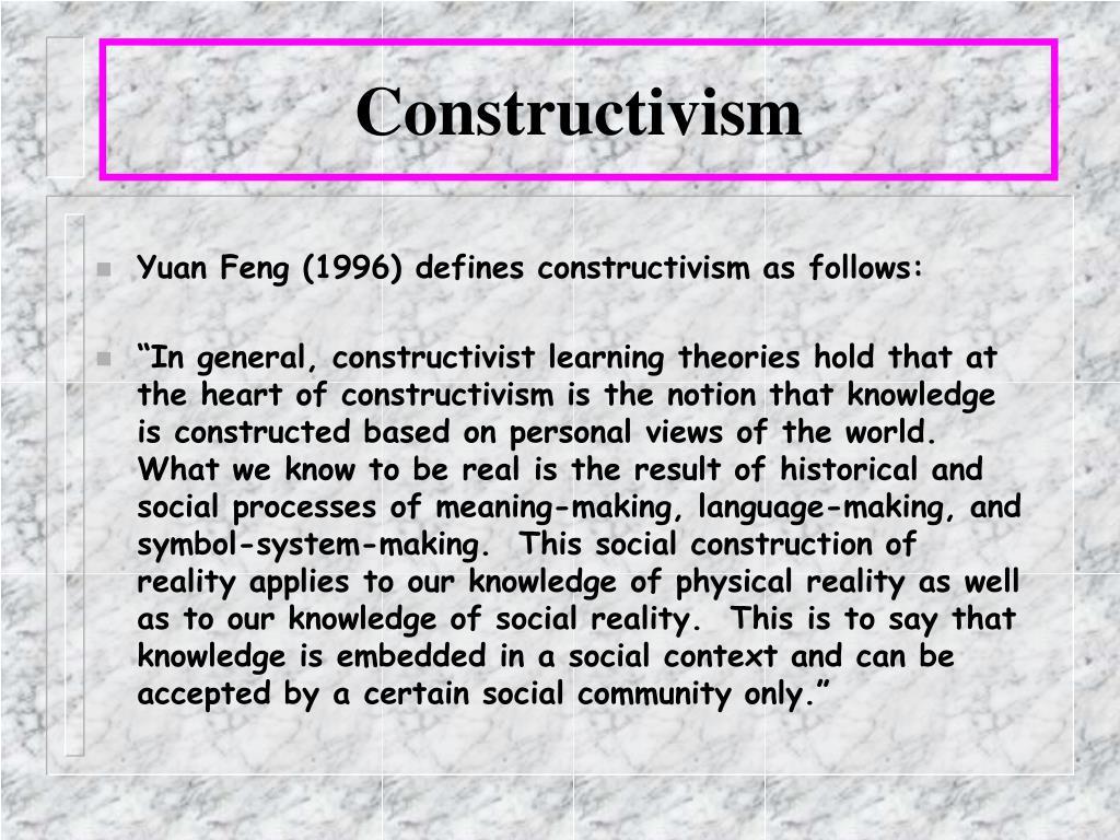 Constructivism