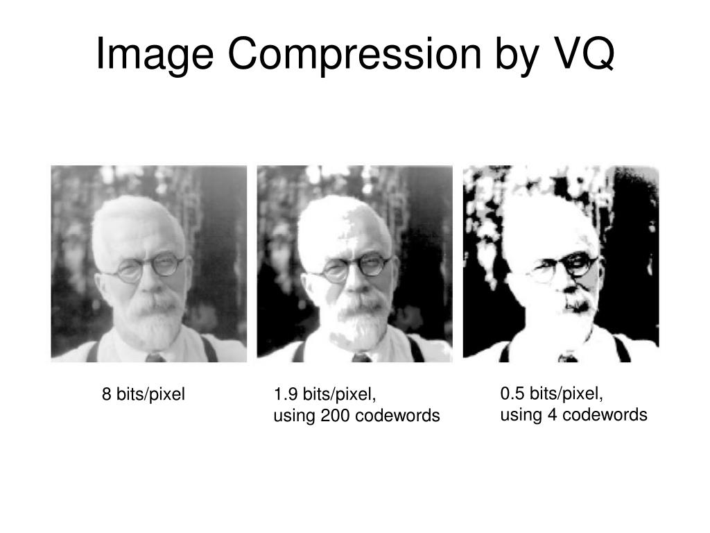 Image Compression by VQ