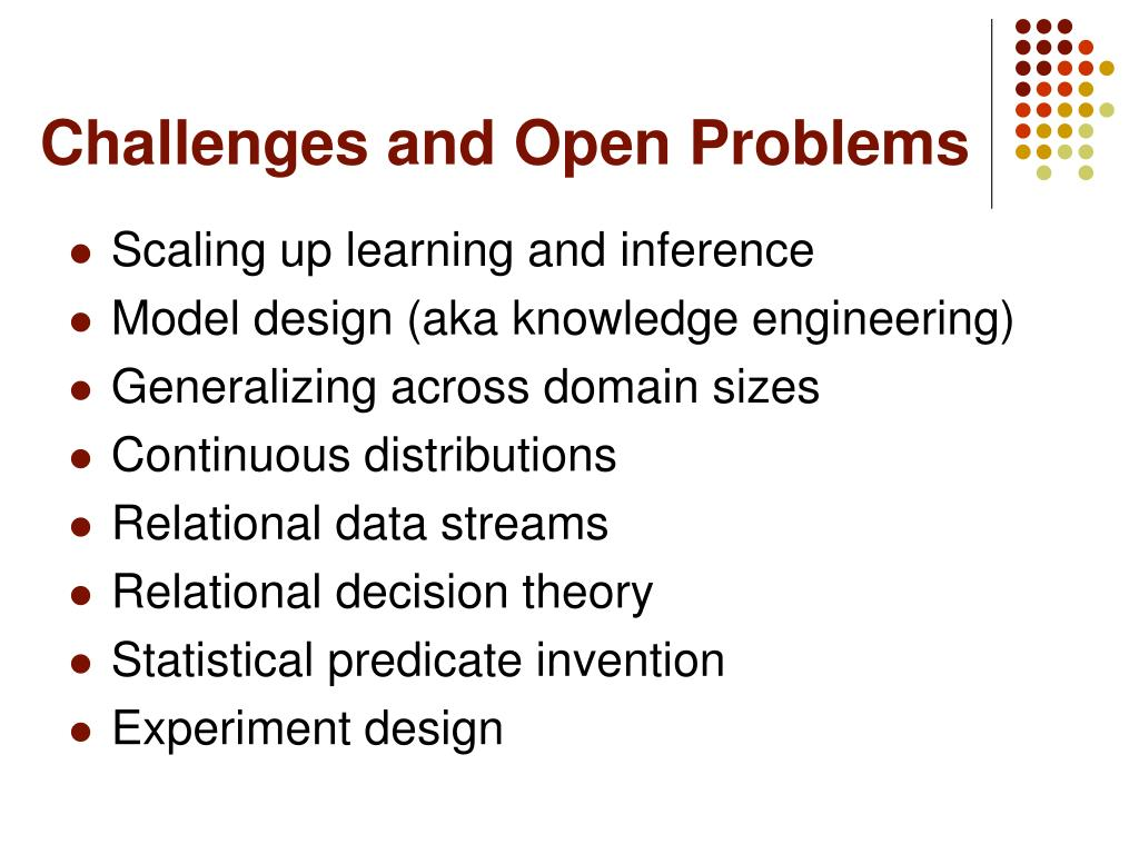 Challenges and Open Problems