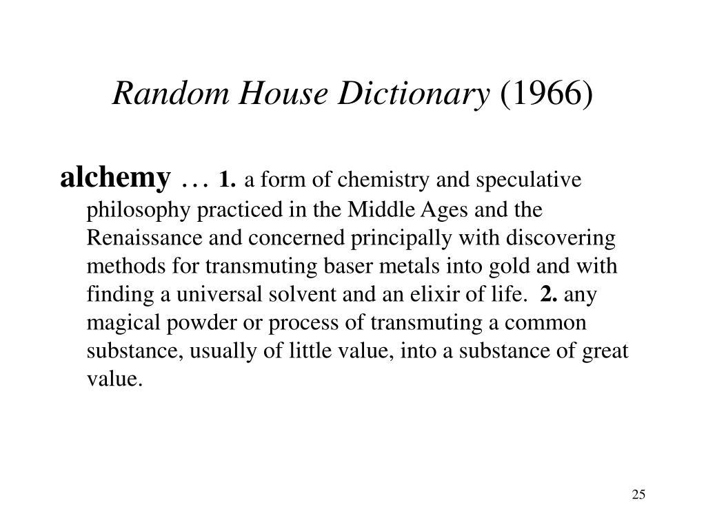 Random House Dictionary