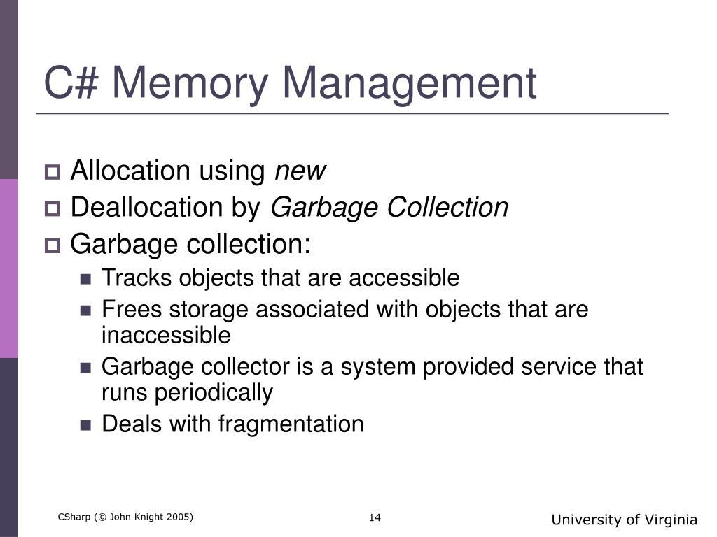 C# Memory Management