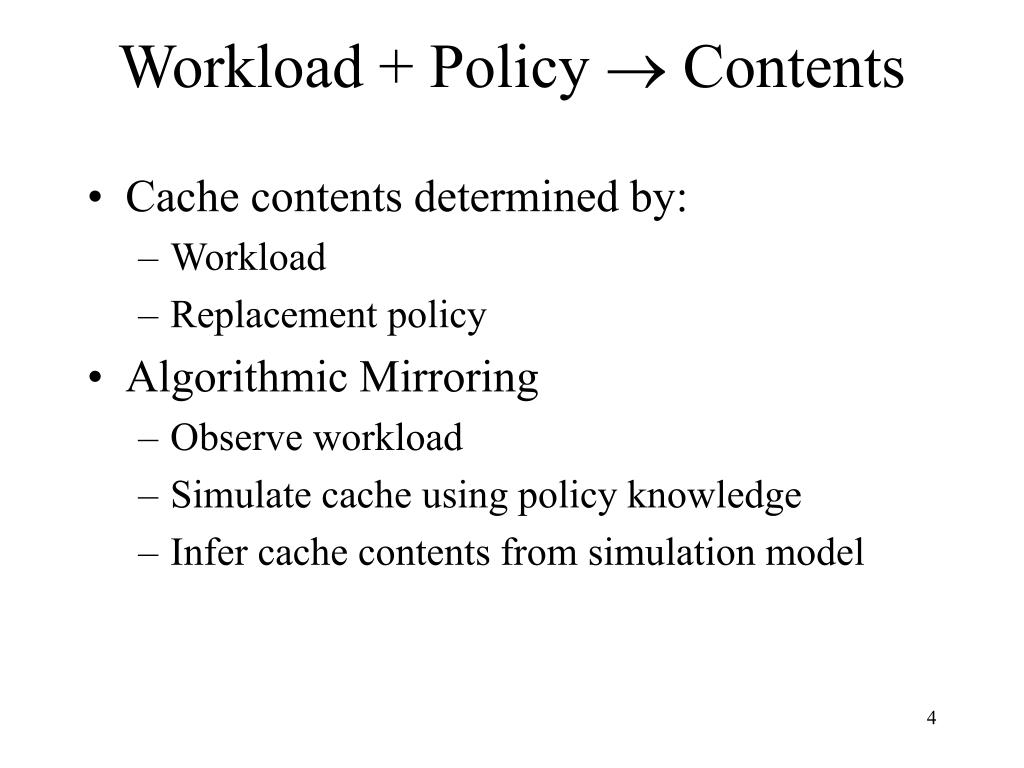 Workload + Policy