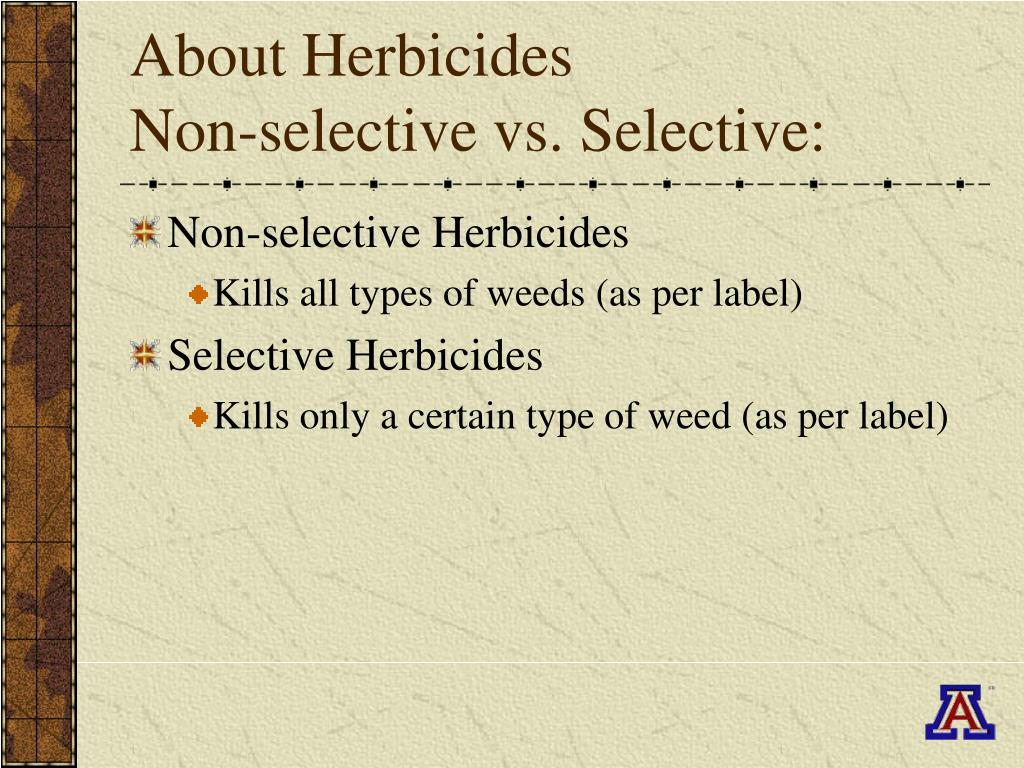 About Herbicides