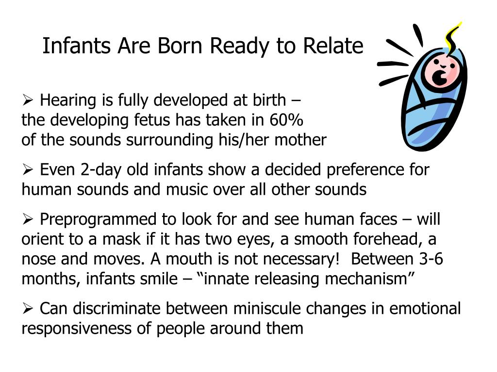 Infants Are Born Ready to Relate