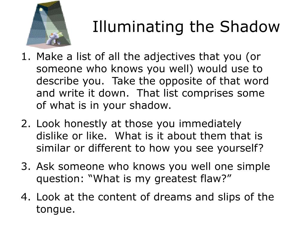 Illuminating the Shadow