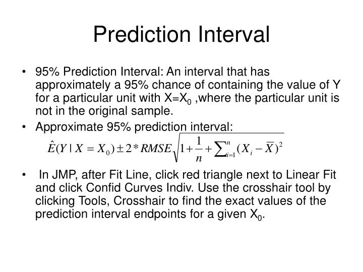 Prediction Interval