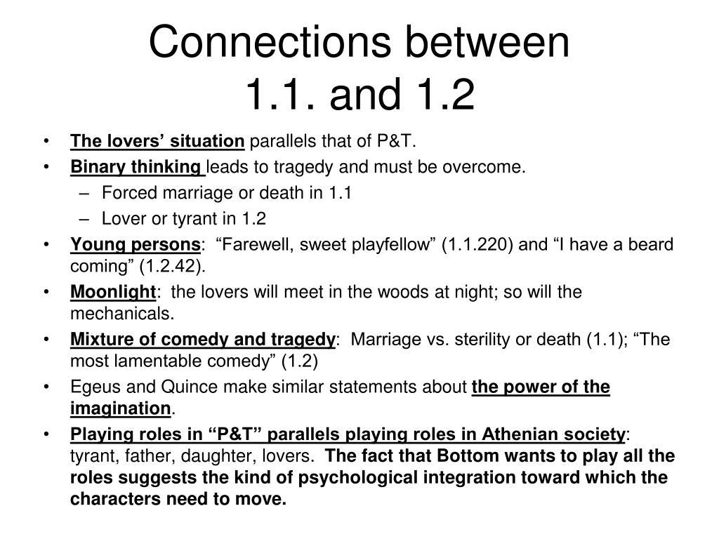 Connections between