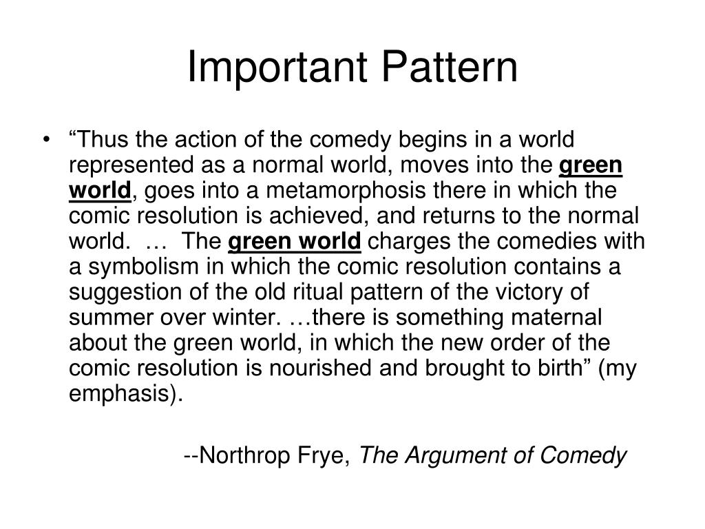 Important Pattern