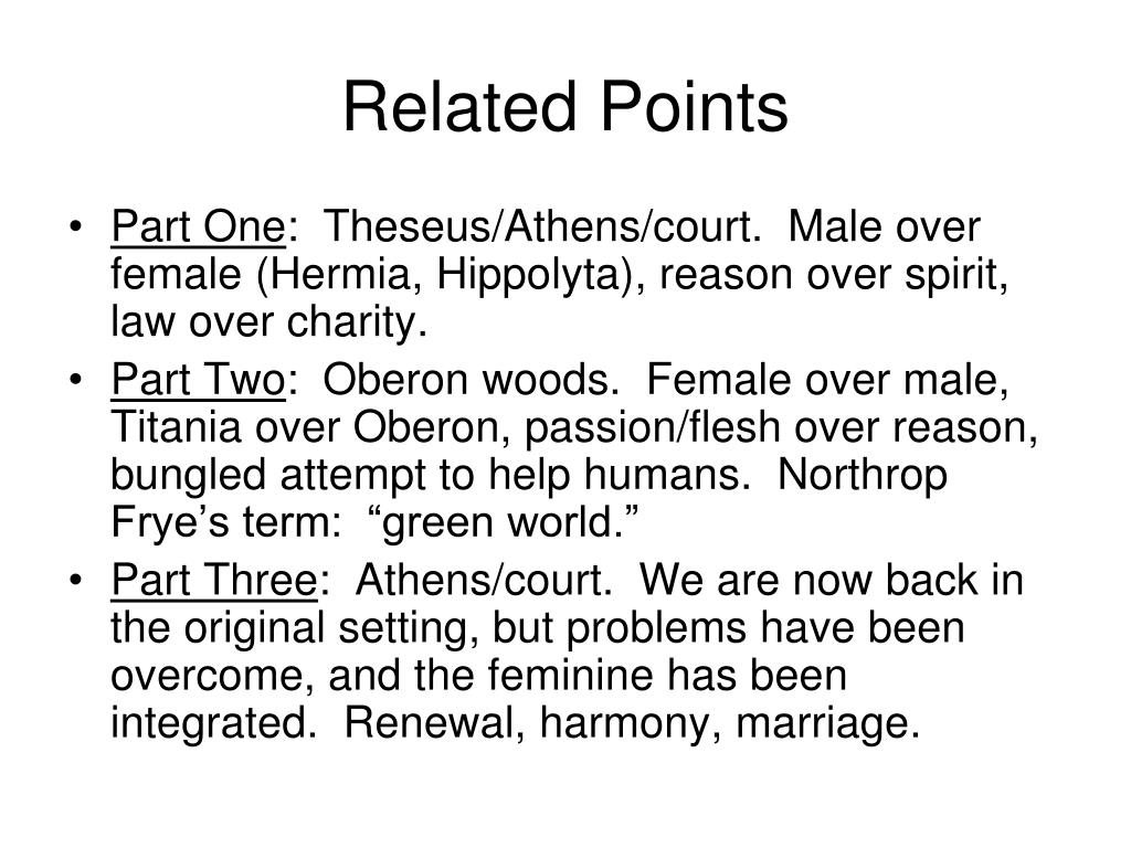 Related Points