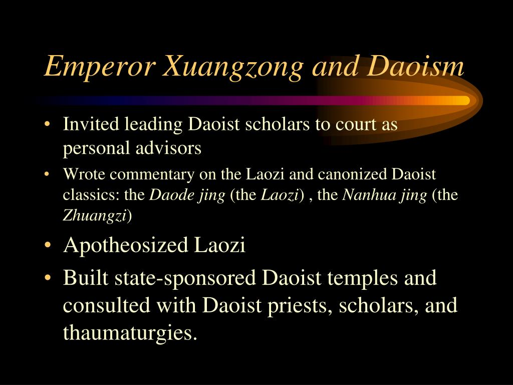 Emperor Xuangzong and Daoism