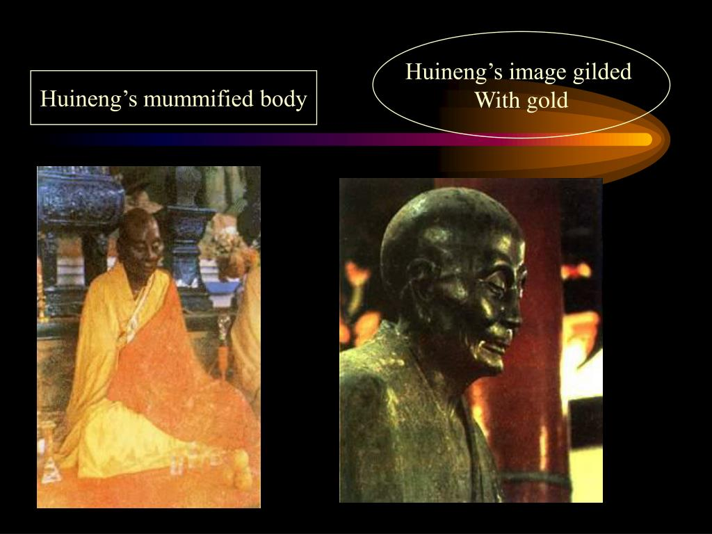 Huineng's image gilded