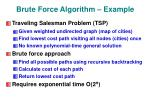brute force algorithm example