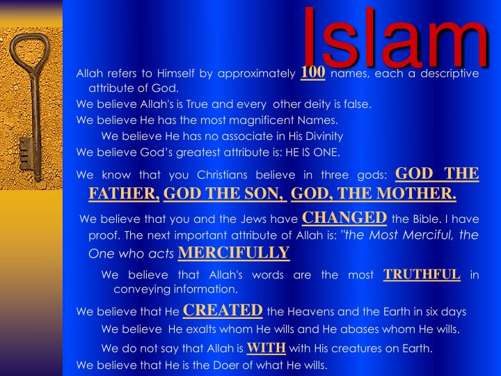 Allah refers to Himself by approximately