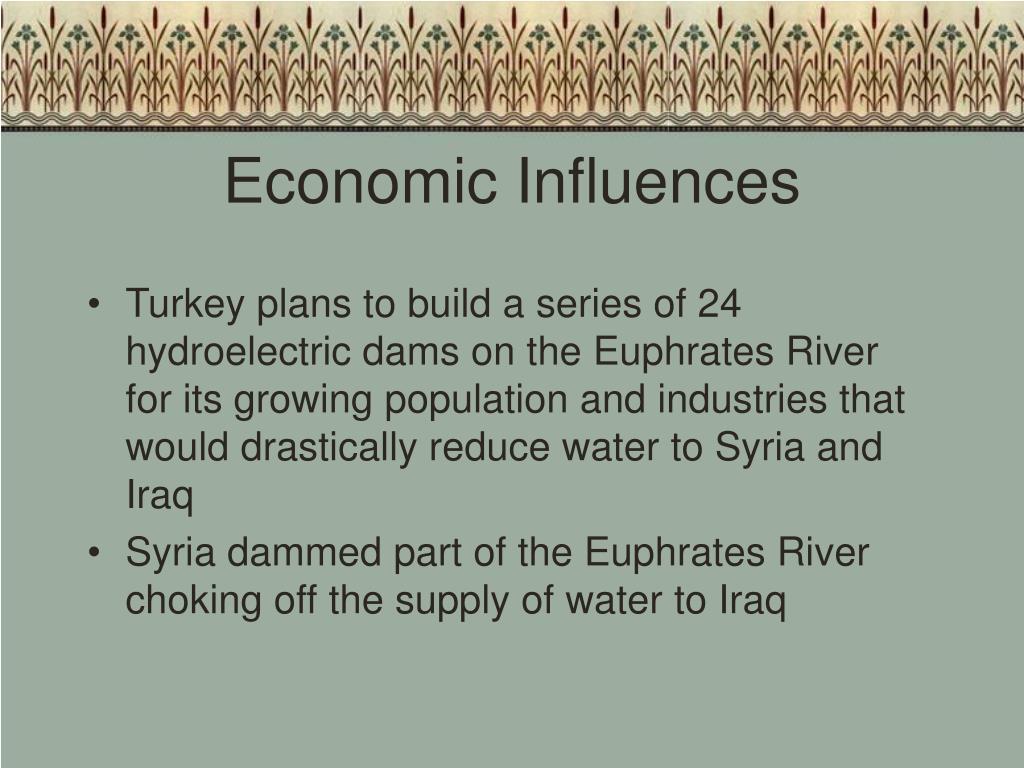 Economic Influences