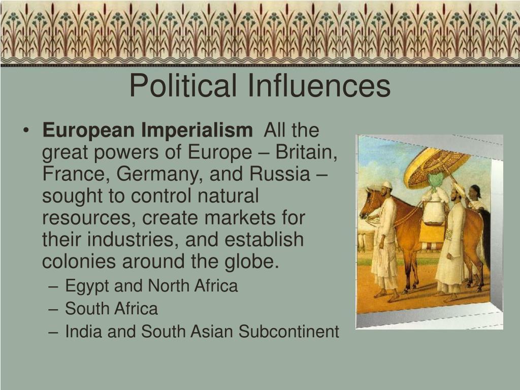 Political Influences