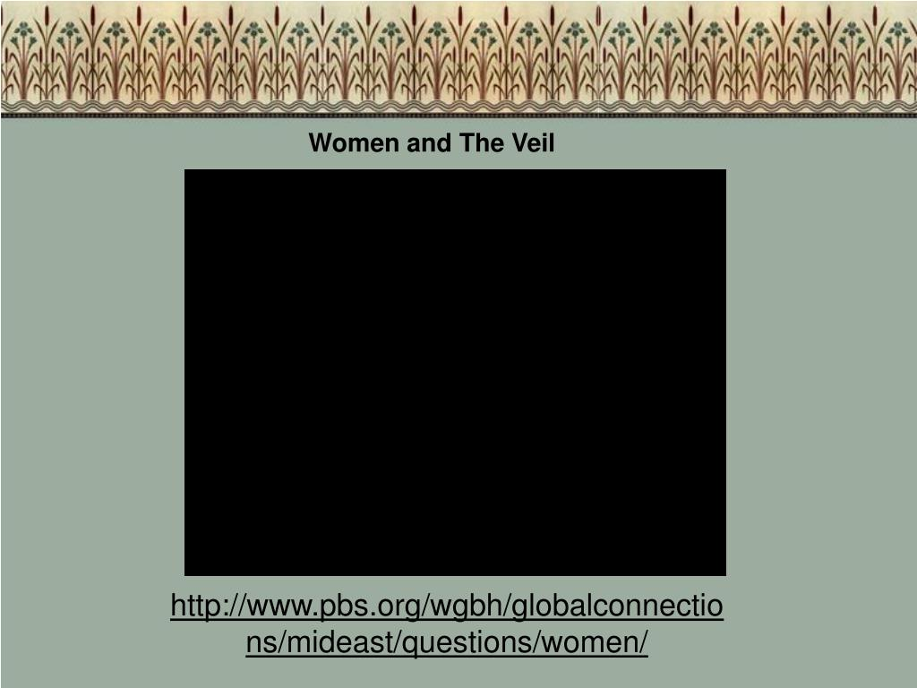 Women and The Veil