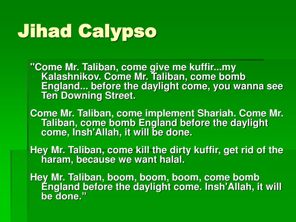 Jihad Calypso