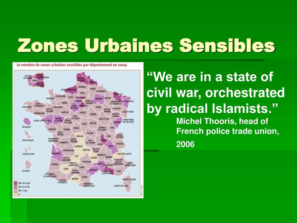 Zones Urbaines Sensibles