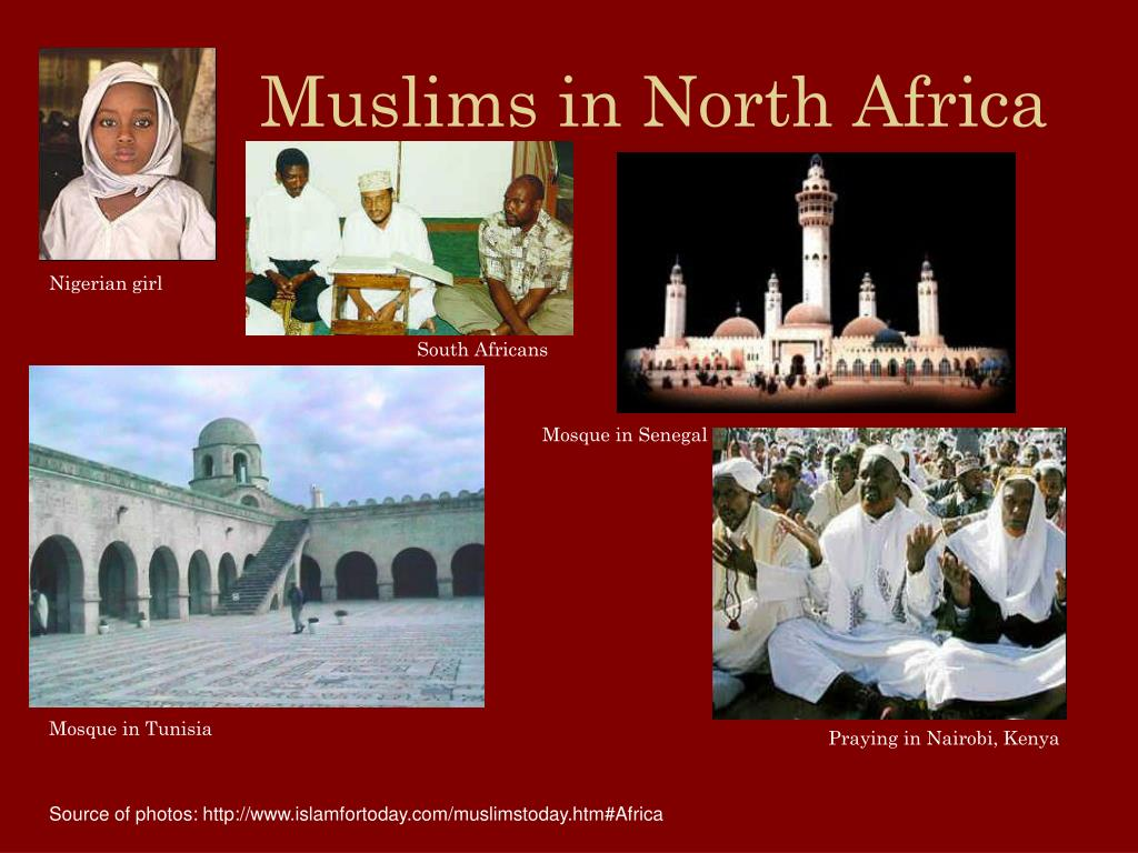 Muslims in North Africa