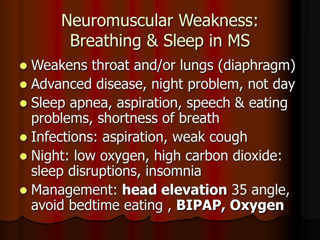 Neuromuscular Weakness: