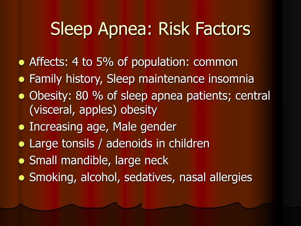 Sleep Apnea: Risk Factors