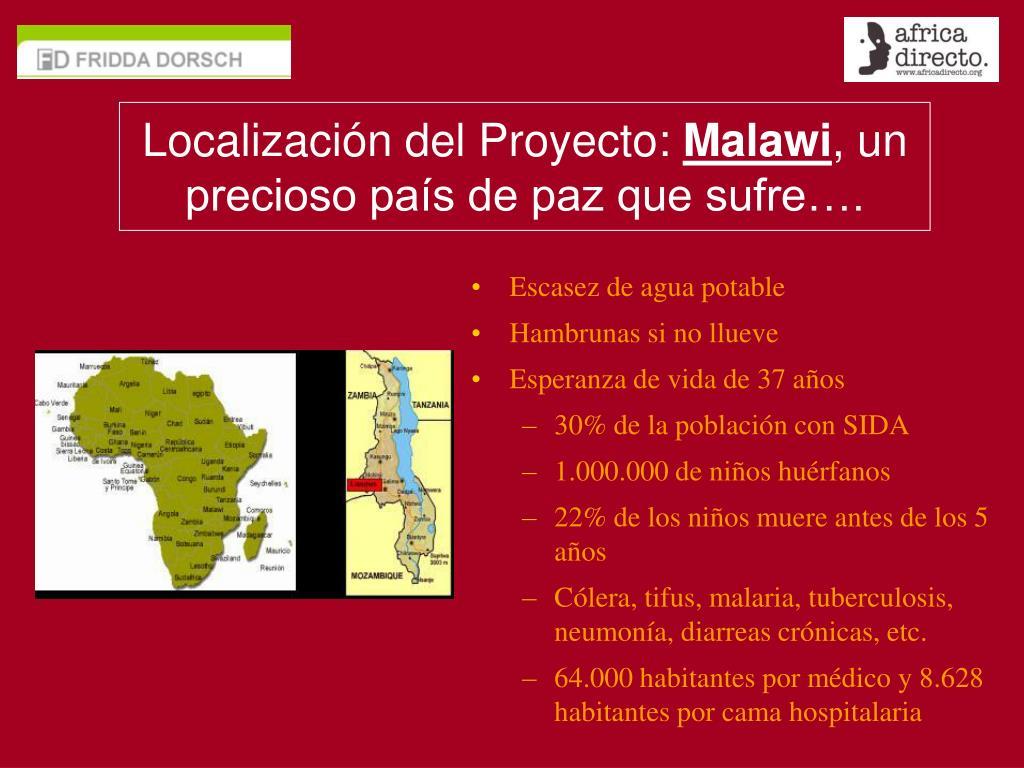 Localización del Proyecto: