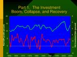 part 1 the investment boom collapse and recovery