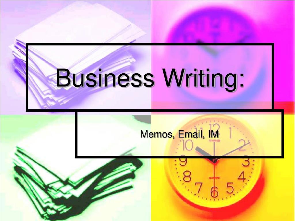 Business Writing: