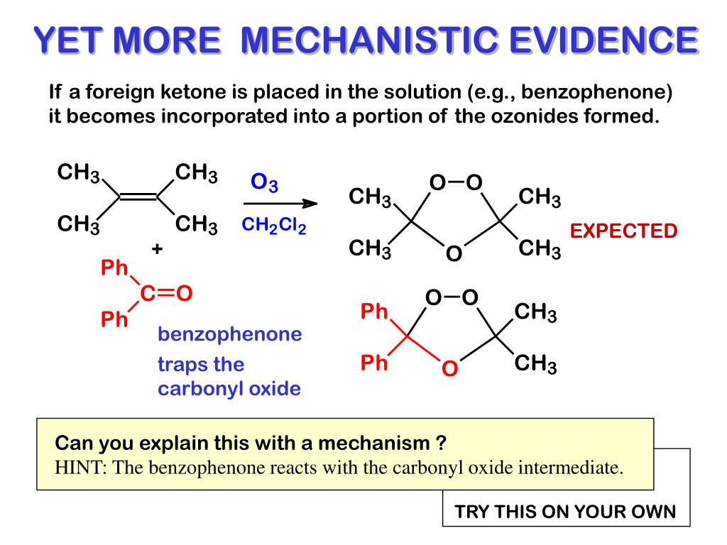 YET MORE  MECHANISTIC EVIDENCE