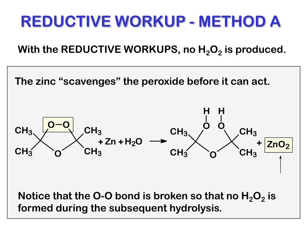 REDUCTIVE WORKUP - METHOD A