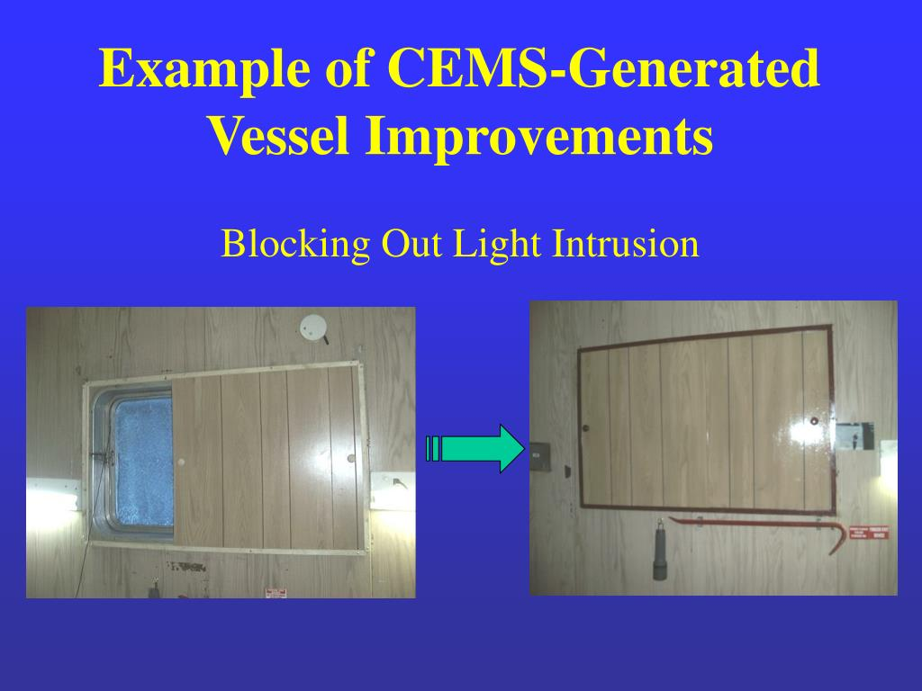 Example of CEMS-Generated