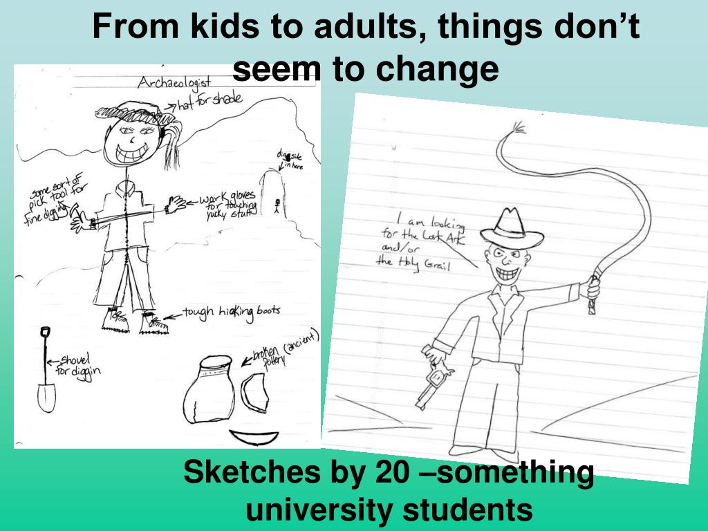 From kids to adults, things don't      seem to change