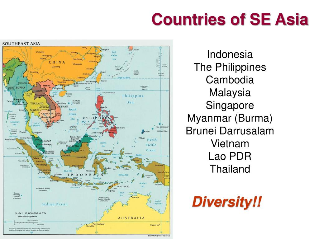 Countries of SE Asia