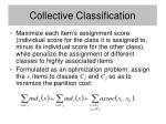 collective classification60