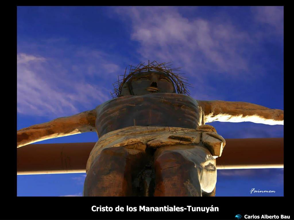 Cristo de los Manantiales-Tunuyán