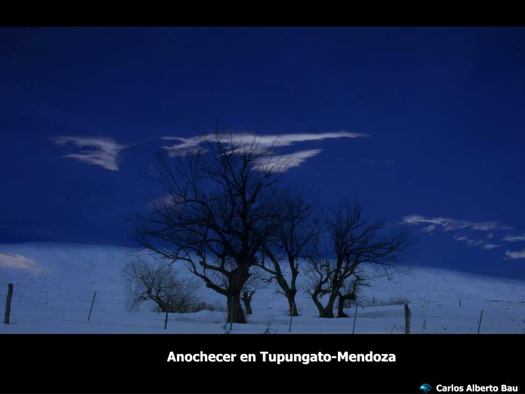 Anochecer en Tupungato-Mendoza