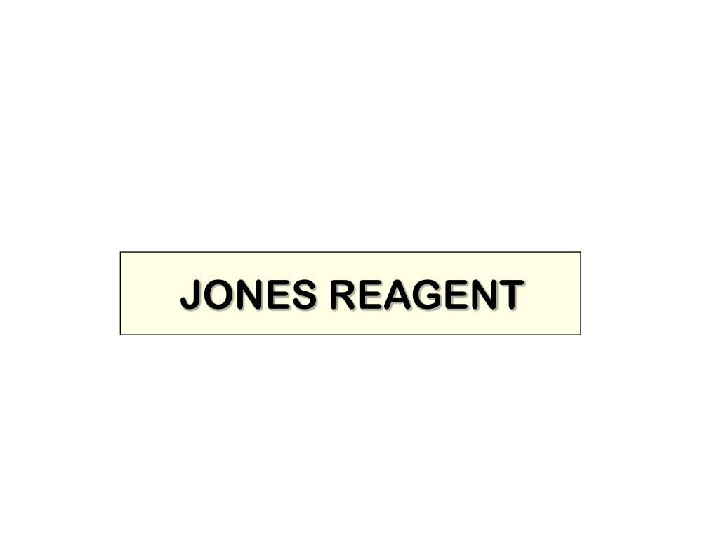JONES REAGENT