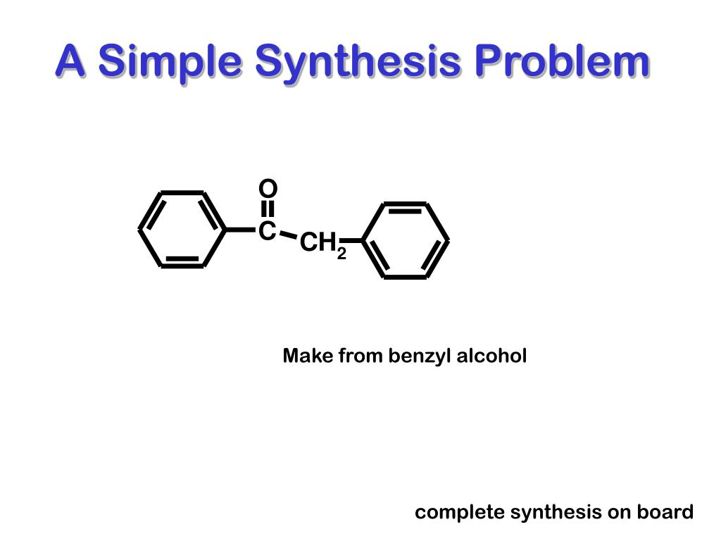 A Simple Synthesis Problem