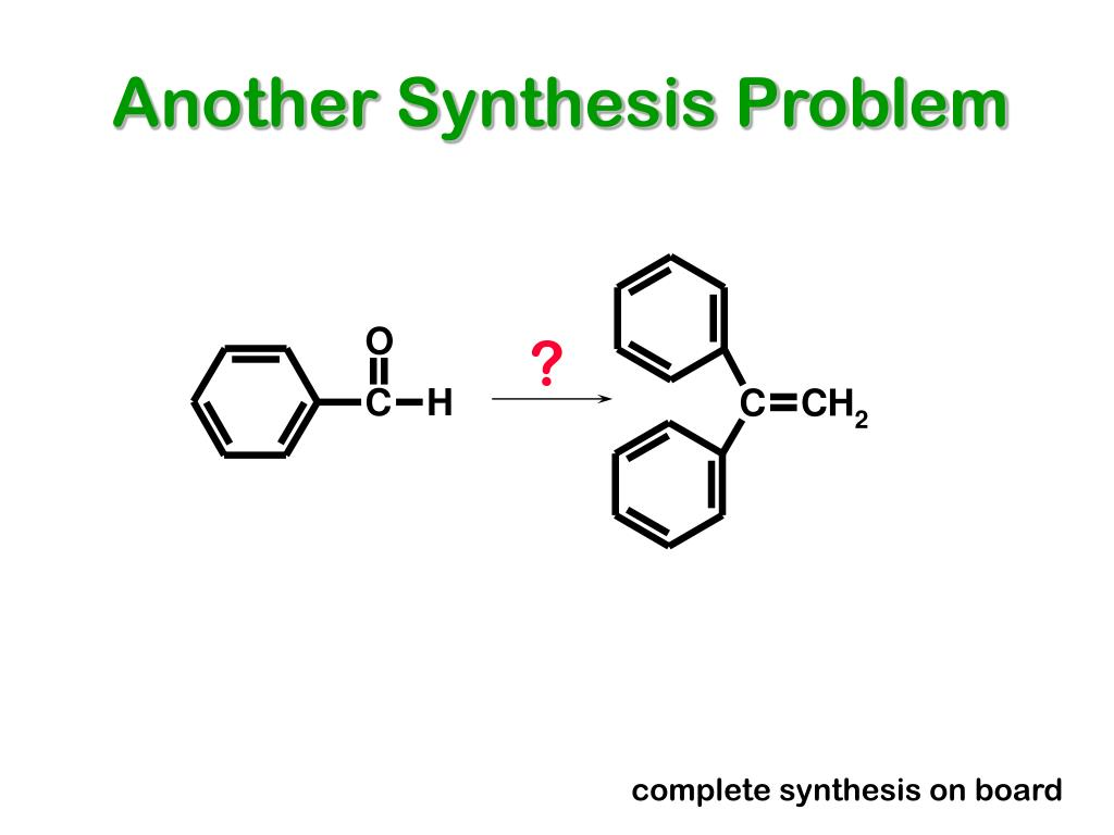 Another Synthesis Problem