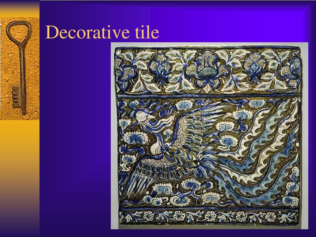 Decorative tile