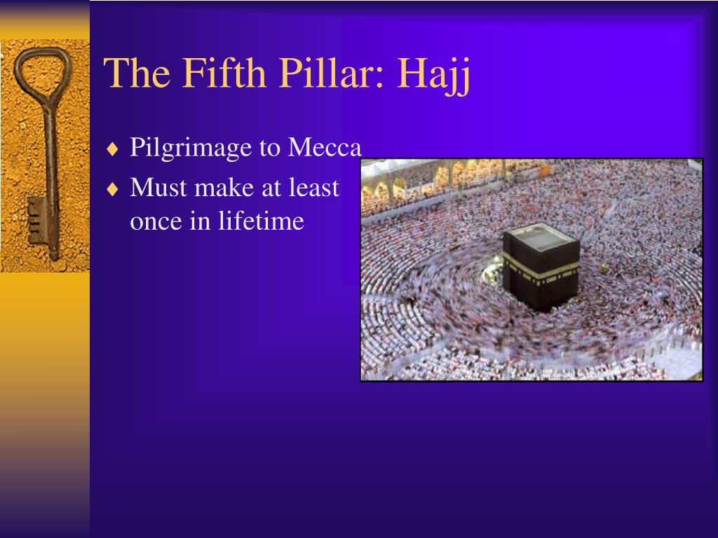 The Fifth Pillar: Hajj