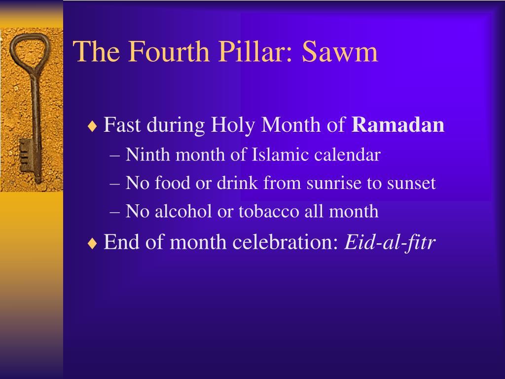 The Fourth Pillar: Sawm