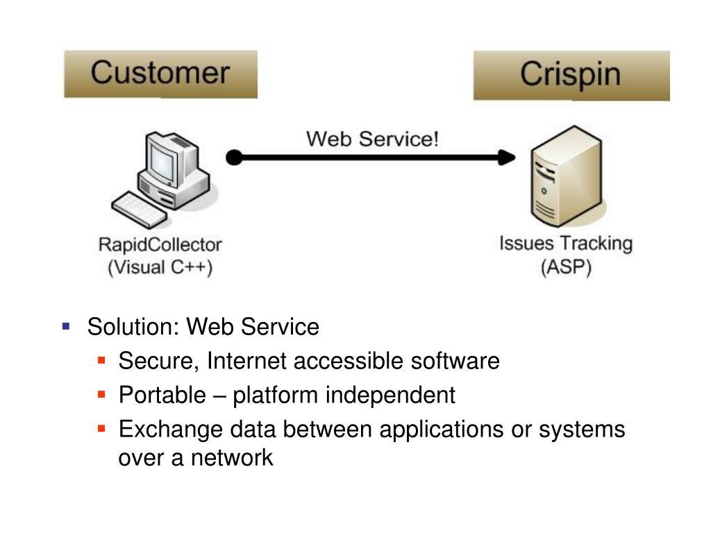 Solution: Web Service