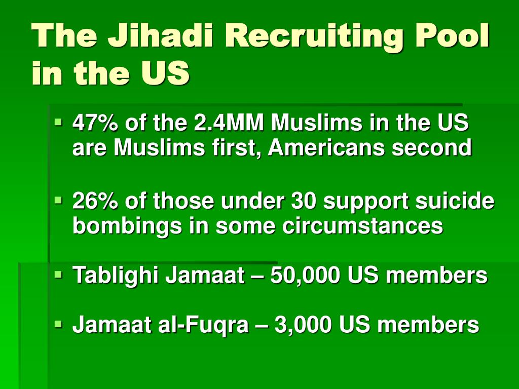The Jihadi Recruiting Pool in the US