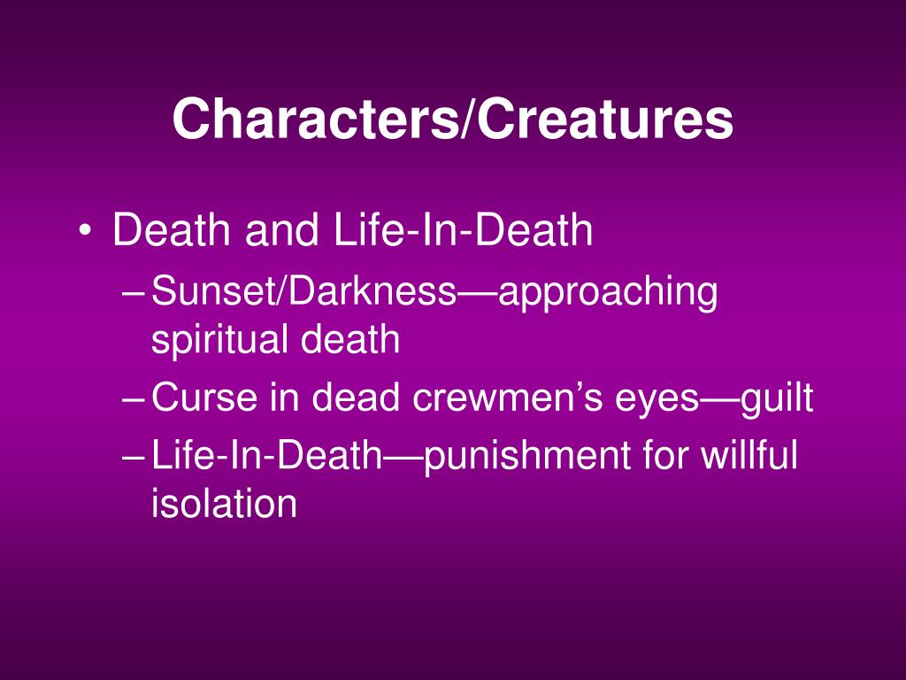 Characters/Creatures
