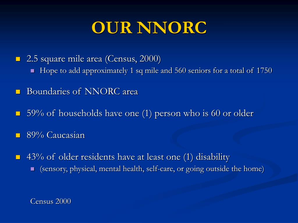 OUR NNORC