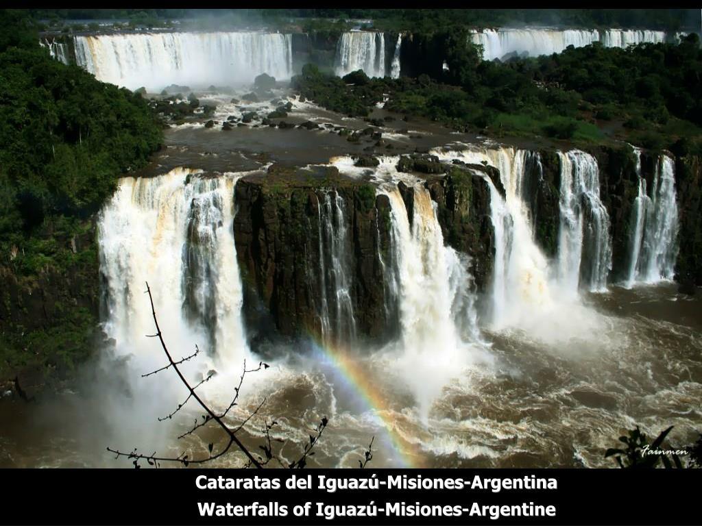 Cataratas del Iguazú-Misiones-Argentina