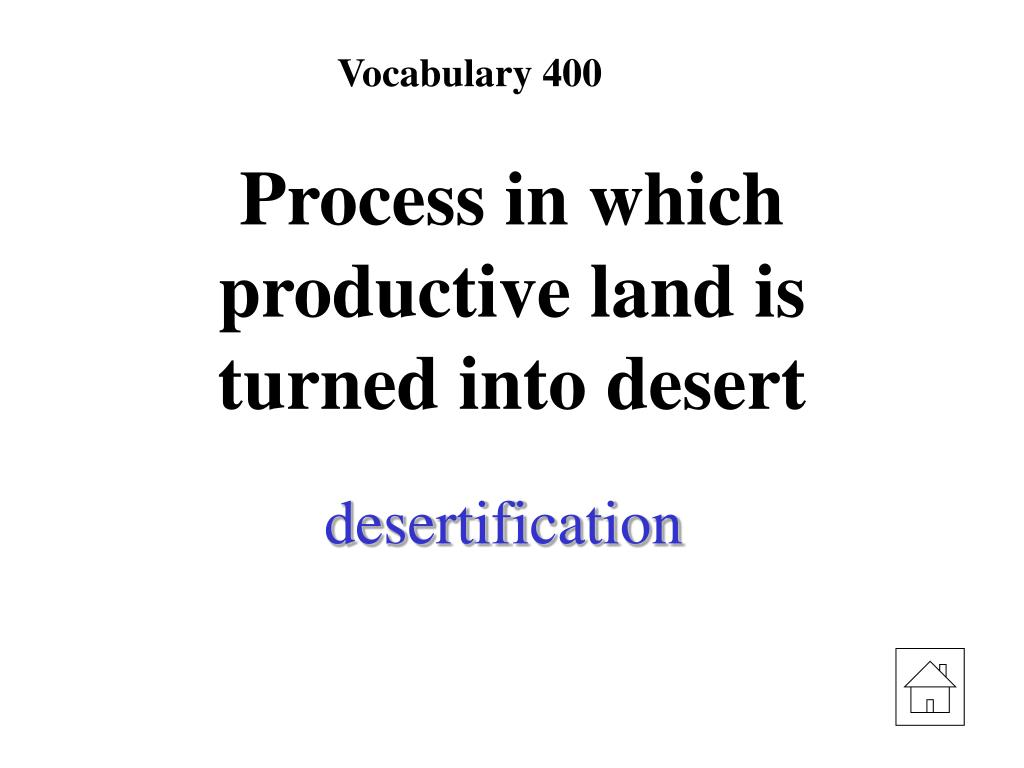 Vocabulary 400